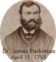 James Parkinson image with Date of birth