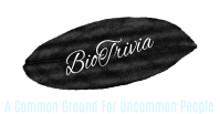 BioTrivia Logo, A common ground for uncommon people