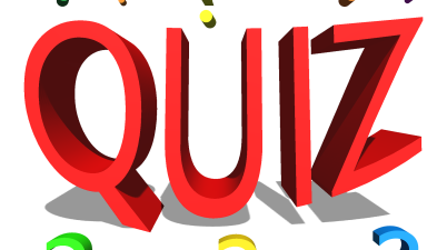 image showing the word quiz surrounded by question marks