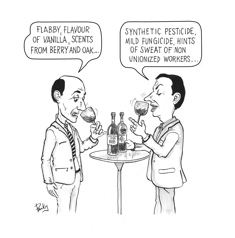 Wine Tasting - de Panky/ from Panky